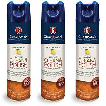 Amazon Com Guardsman Clean Polish For Wood Furniture Lemonfresh