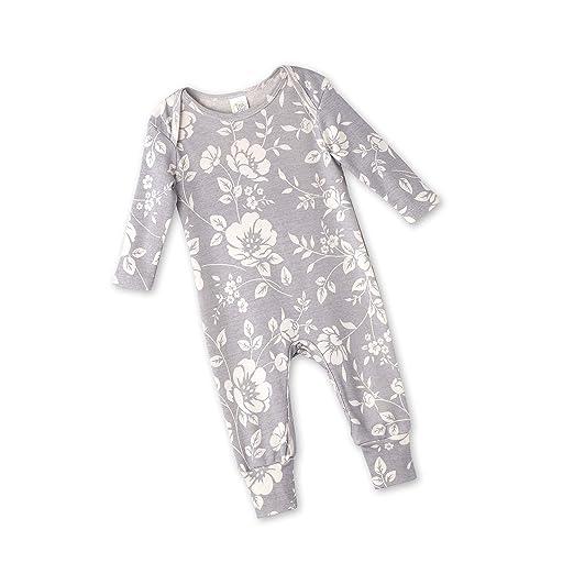 3a43f747b28c Amazon.com  Tesa Babe Floral Romper for Newborns   Baby Girls ...