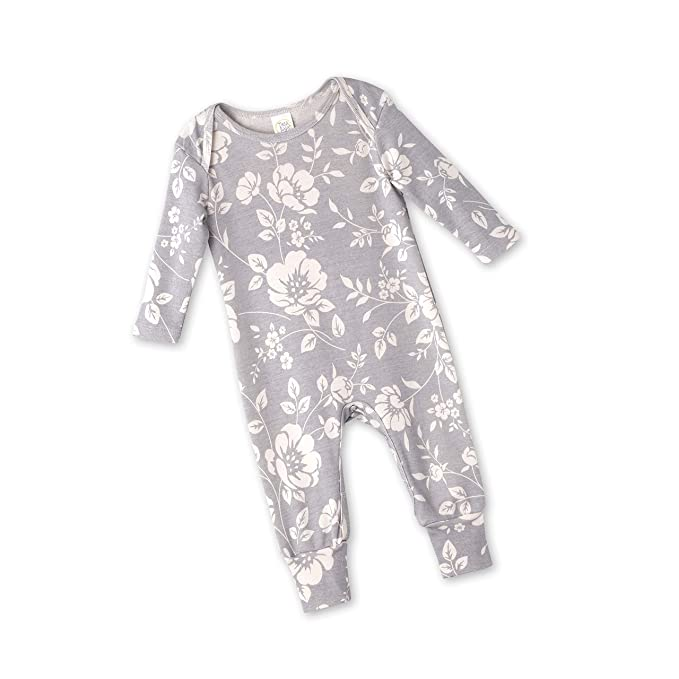 00806d1a849 Amazon.com  Tesa Babe Floral Romper for Newborns   Baby Girls ...