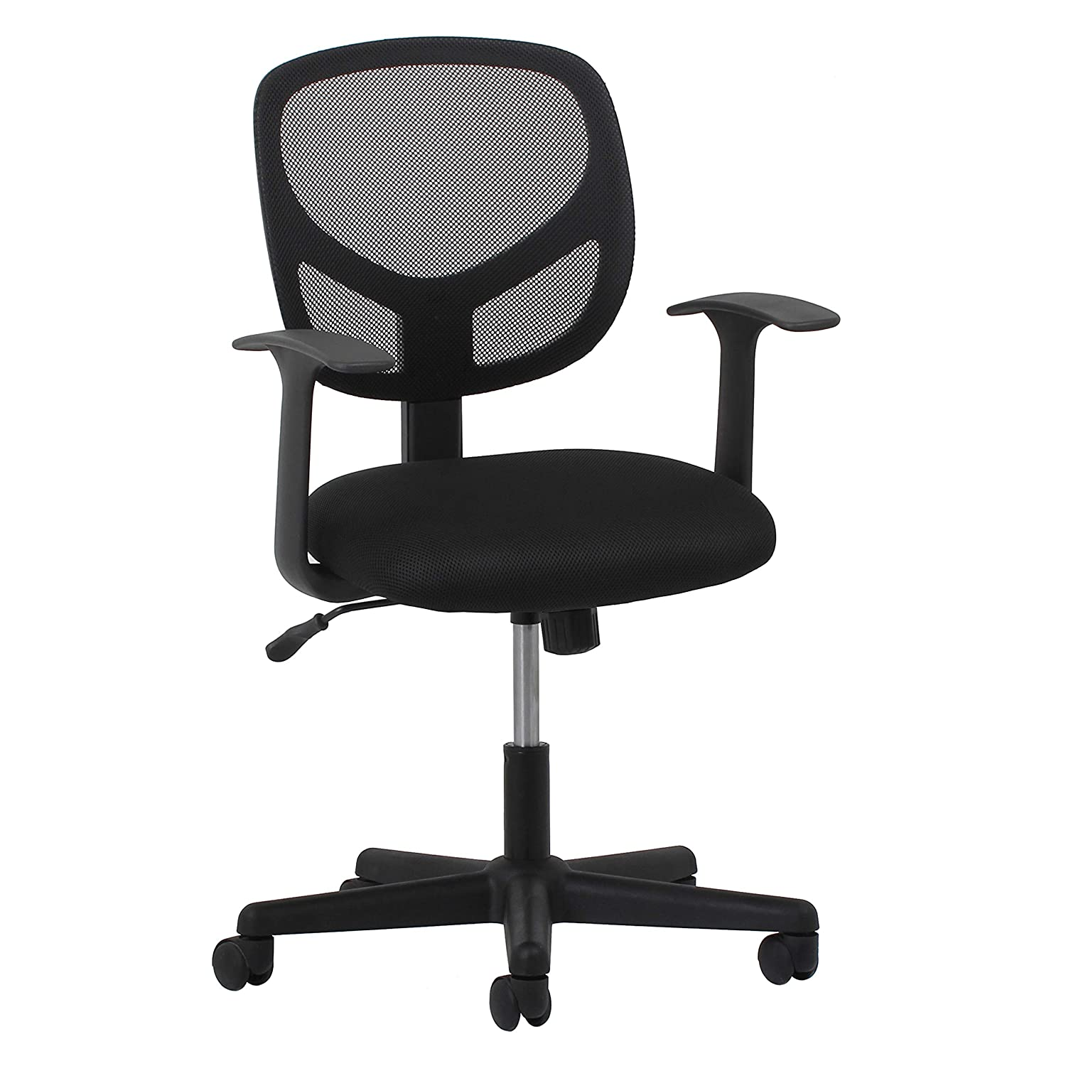 OFM Essentials Collection Mesh Back Office Chair, in Black