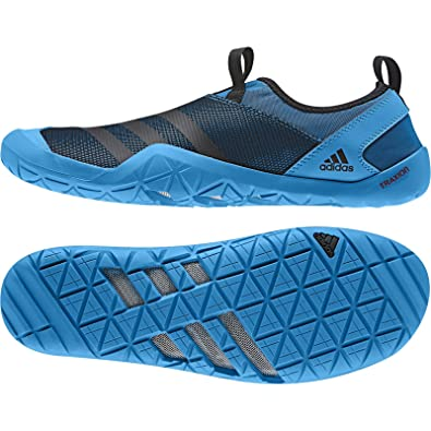 096a9aaca197 adidas Outdoor Climacool Jawpaw Slip On Water Shoe - Men s Vista Blue Black Solar  Blue 6  Amazon.co.uk  Shoes   Bags