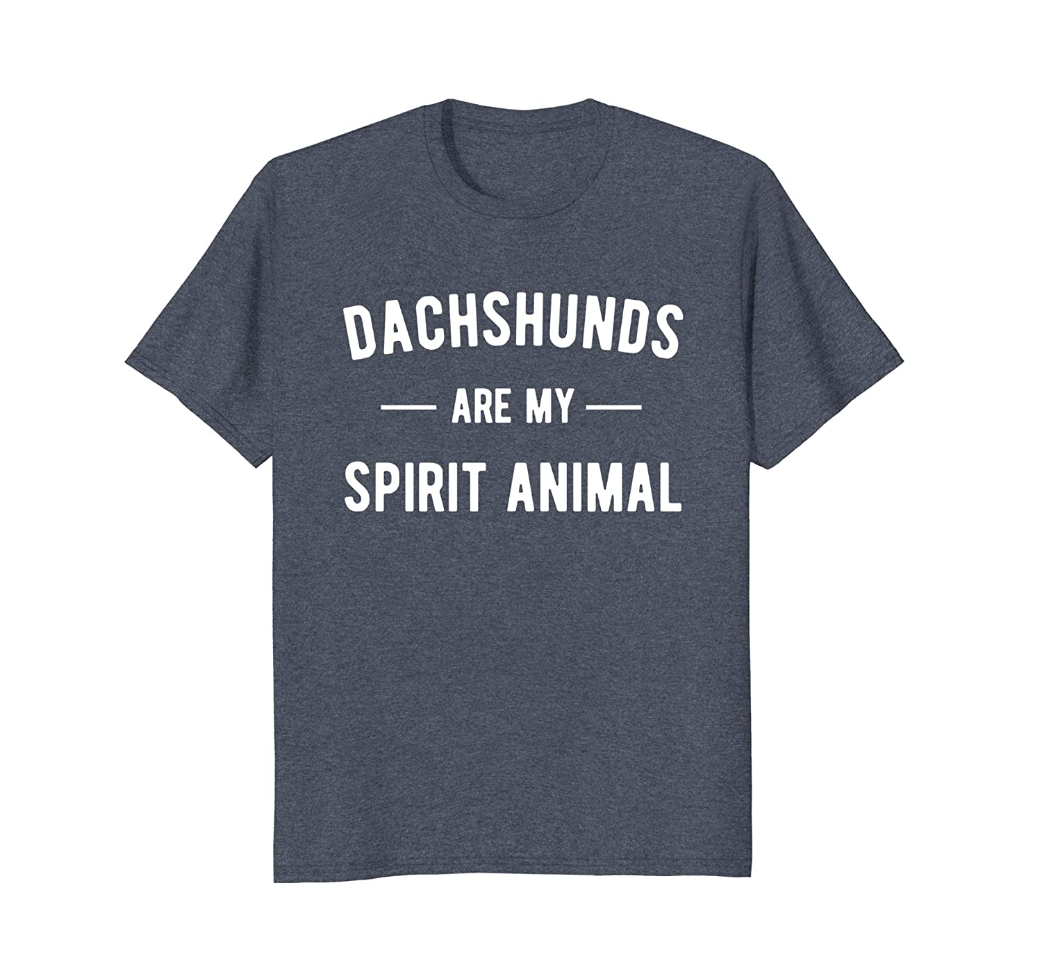 Dachshund Shirts for Women Dachshunds are My Spirit Animal-AZP