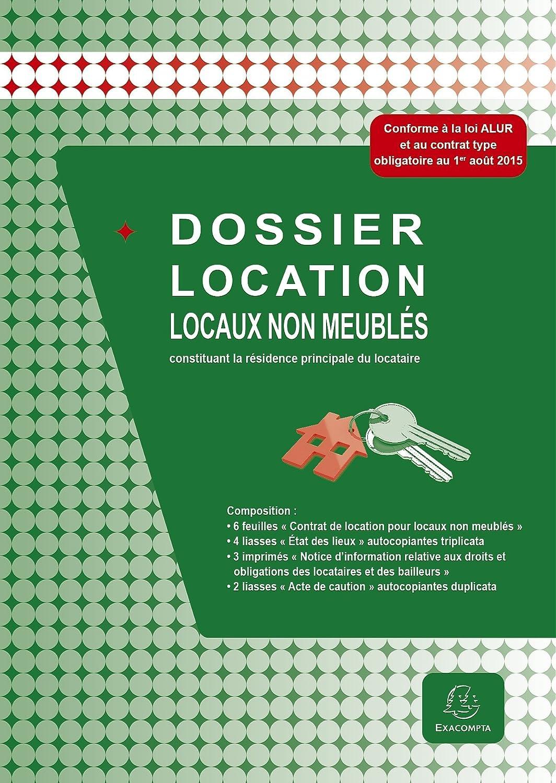 Exacompta   44E   Dossier Location   Locaux Non Meublés: Amazon.fr:  Fournitures De Bureau