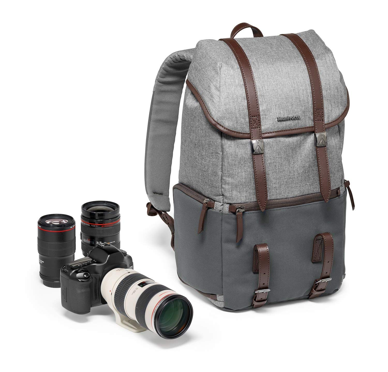 Manfrotto Windsor Sac Camera Reporter pour DSLR Gris MB LF-WN-RP