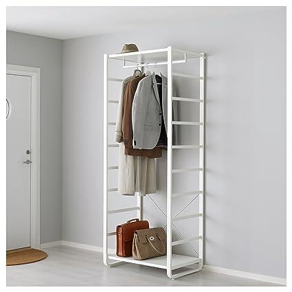 IKEA elvarli - 1 sección, blanco: Amazon.es: Hogar