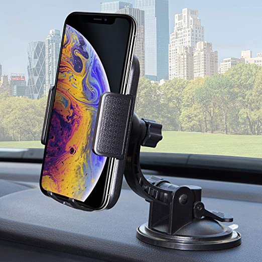 Amazon Com Bestrix Phone Car Holder For Dash Windshield Car Phone Holder Mount For Dashboard Compatible With Iphone 11pro Xr Xs Xs Max X 8 8plus 7 6plus Galaxy Note S7