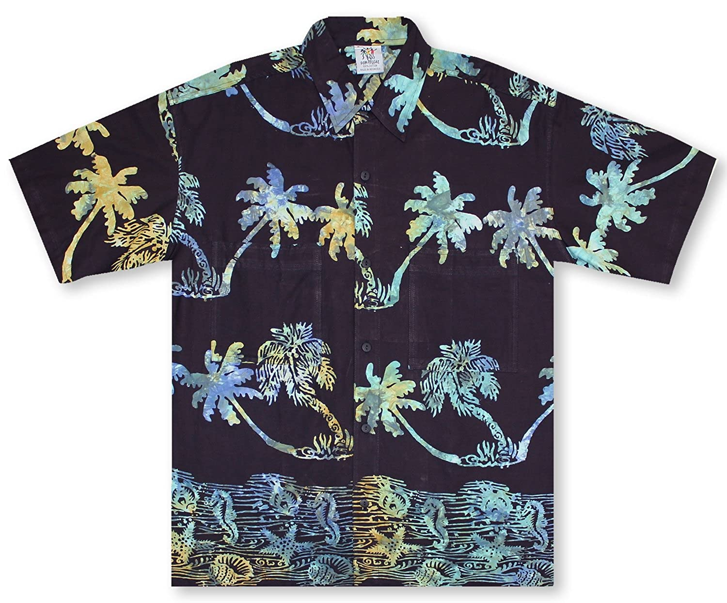22cf1757c Rum Reggae Coco Tree Islander Hawaiian Shirt at Amazon Men's Clothing store:  Button Down Shirts