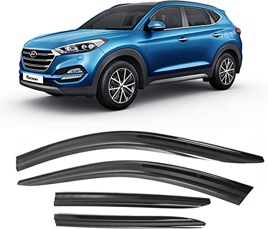 IN CHANNEL RAIN GUARDS FOR HYUNDAI TUCSON 2010-2015
