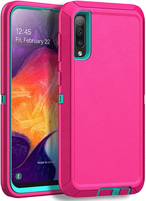 Black Otterbox Defender Protective Case for Samsung Galaxy A50 Case for Galaxy A50