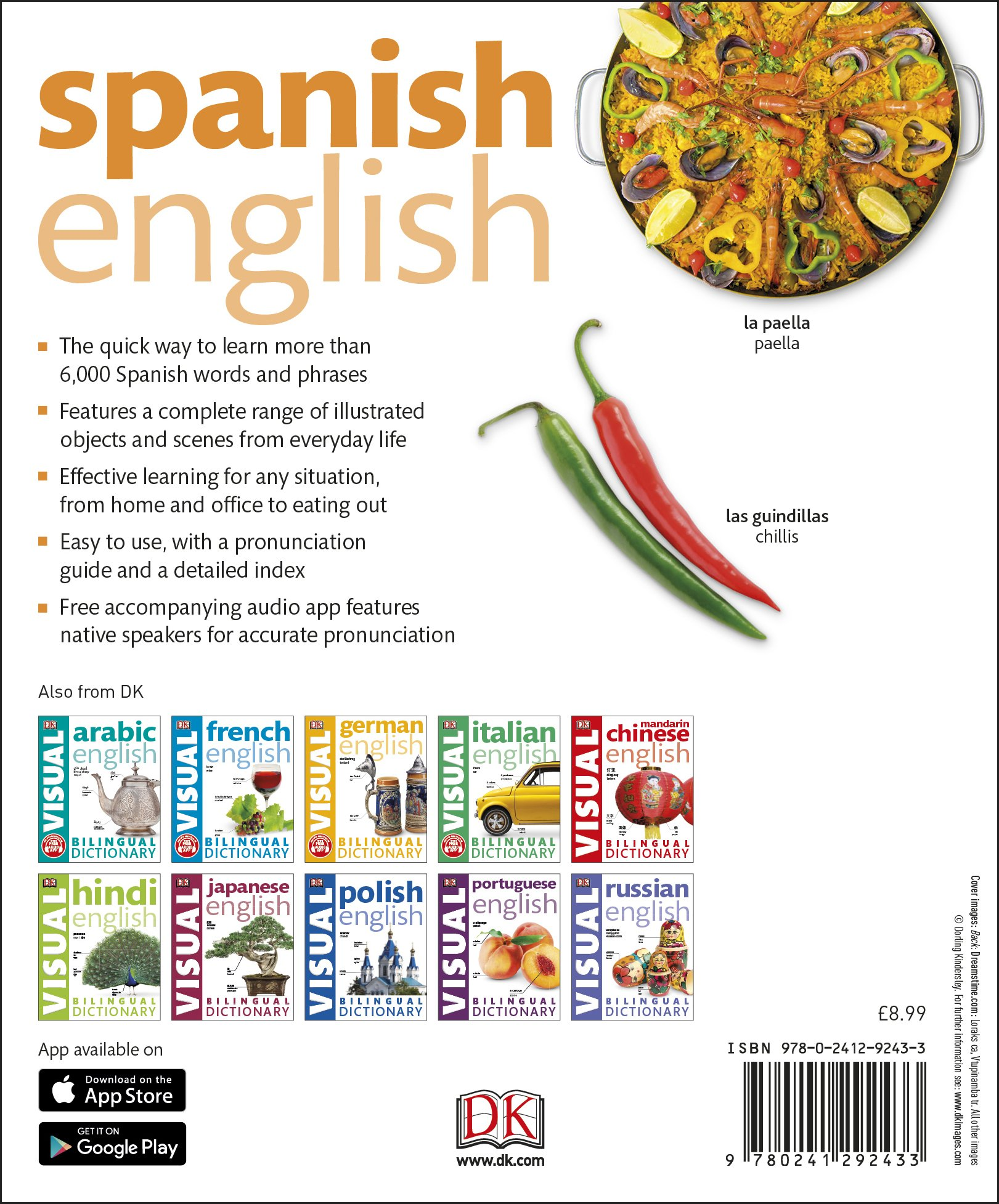 Spanish english bilingual visual dictionary dk bilingual dictionaries amazon co uk dk 9780241292433 books