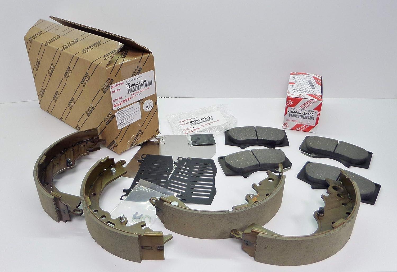 Toyota Tacoma 2005-2015 Front Genuine OEM Ceramic Brake Pads w//Shims 04465-AZ100