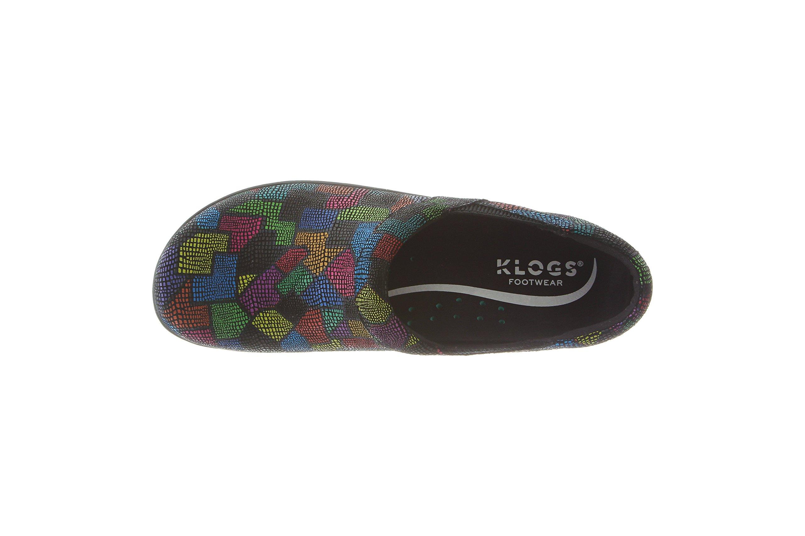 Klogs Footwear Women's Portland Shoe, Puzzle, 9 M