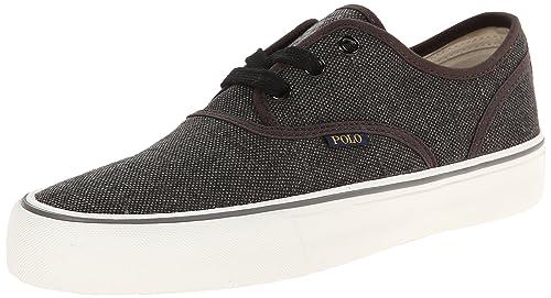 Polo Ralph Lauren Morray-Sk-Vlc Lona Zapatillas: Amazon.es: Zapatos y complementos