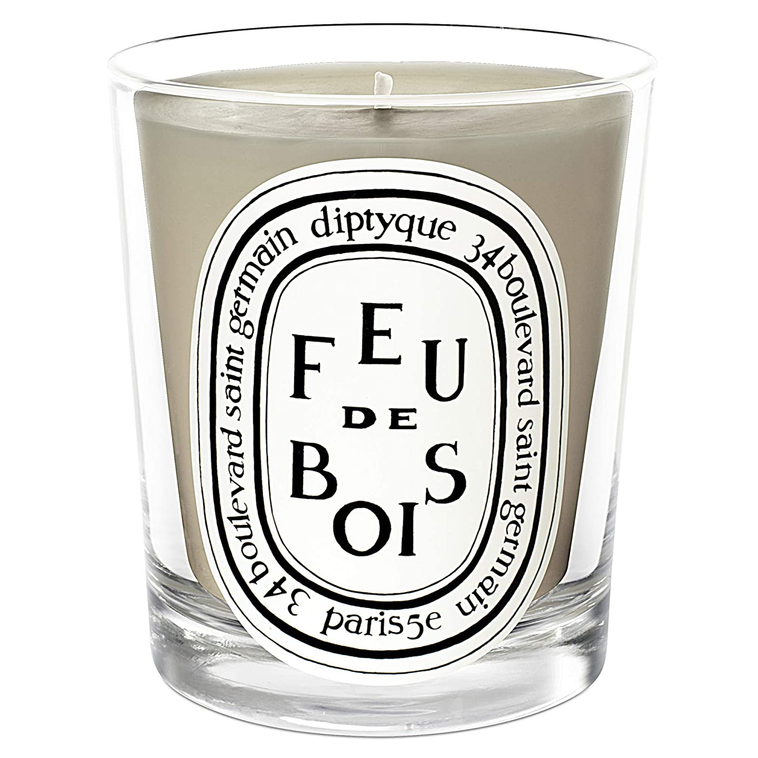 [Diptyque] DiptyqueのFeuドボワ香りのキャンドル190グラム - Diptyque Feu de Bois Scented Candle 190g [並行輸入品] B07S859B92