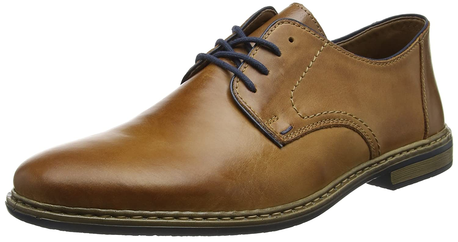 1512dfb3f3325 Amazon.com | Rieker Men's Zim Lace Up Formal Shoes | Loafers & Slip-Ons