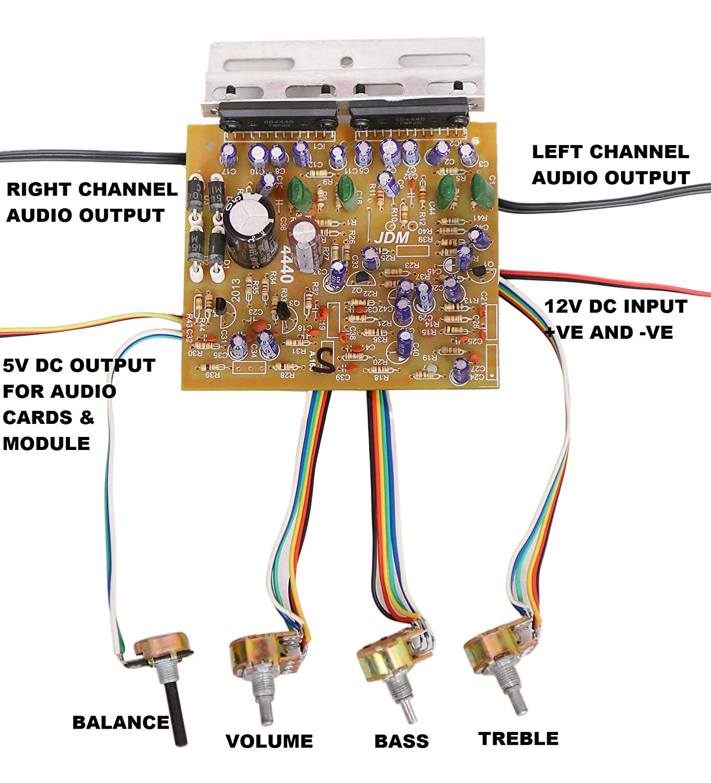 Barry John 100W Audio Amplifier Stereo Circuit KIT: Amazon in