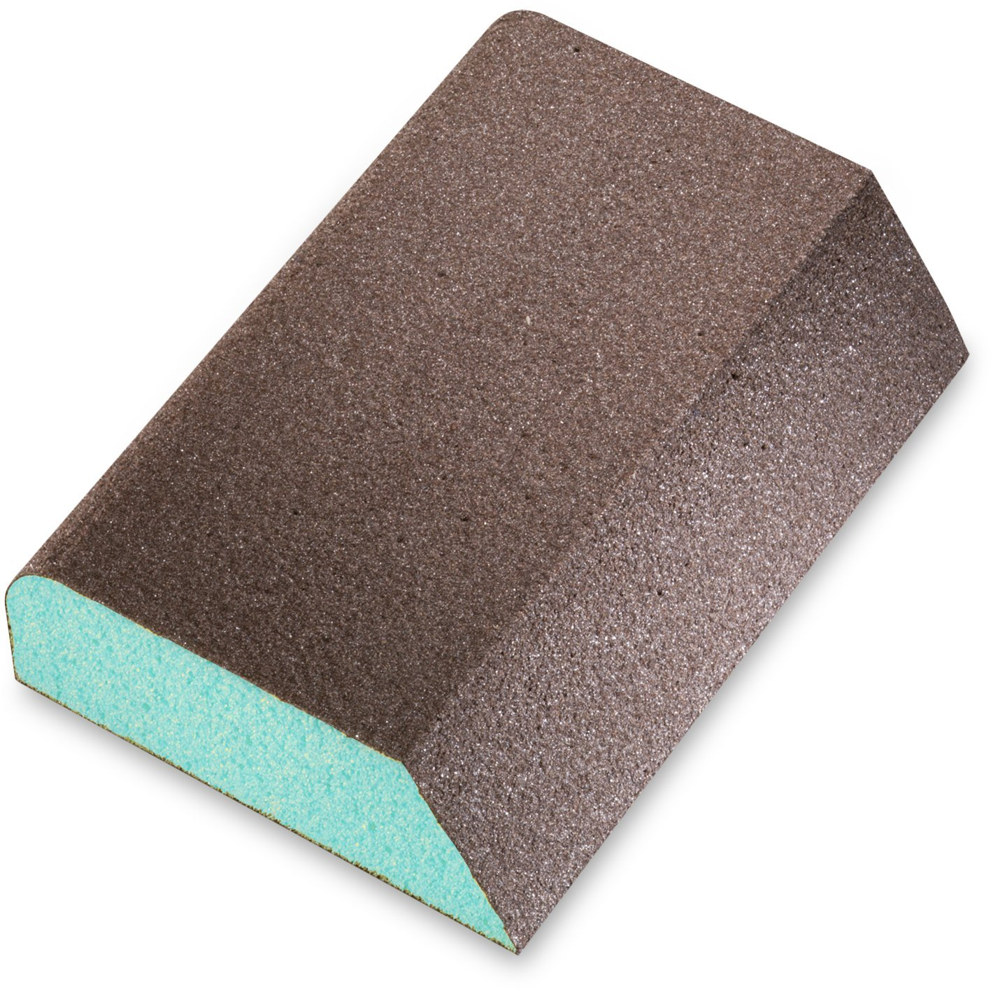 SIA Abrasives 0070.1241.01 Series 7990 siasponge Block Hard Abrasive, PUR Backing, Aluminum Oxide Grit, Coated 4 Sides, Superfine Grade, 2-3/4'' W, 3-3/4'' L, 1'' Thick (Pack of 10)