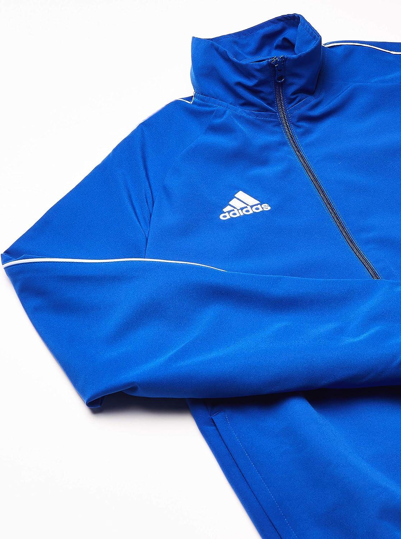 Bold Blue//White Adult adidas Core 18 Presentation Jacket Medium