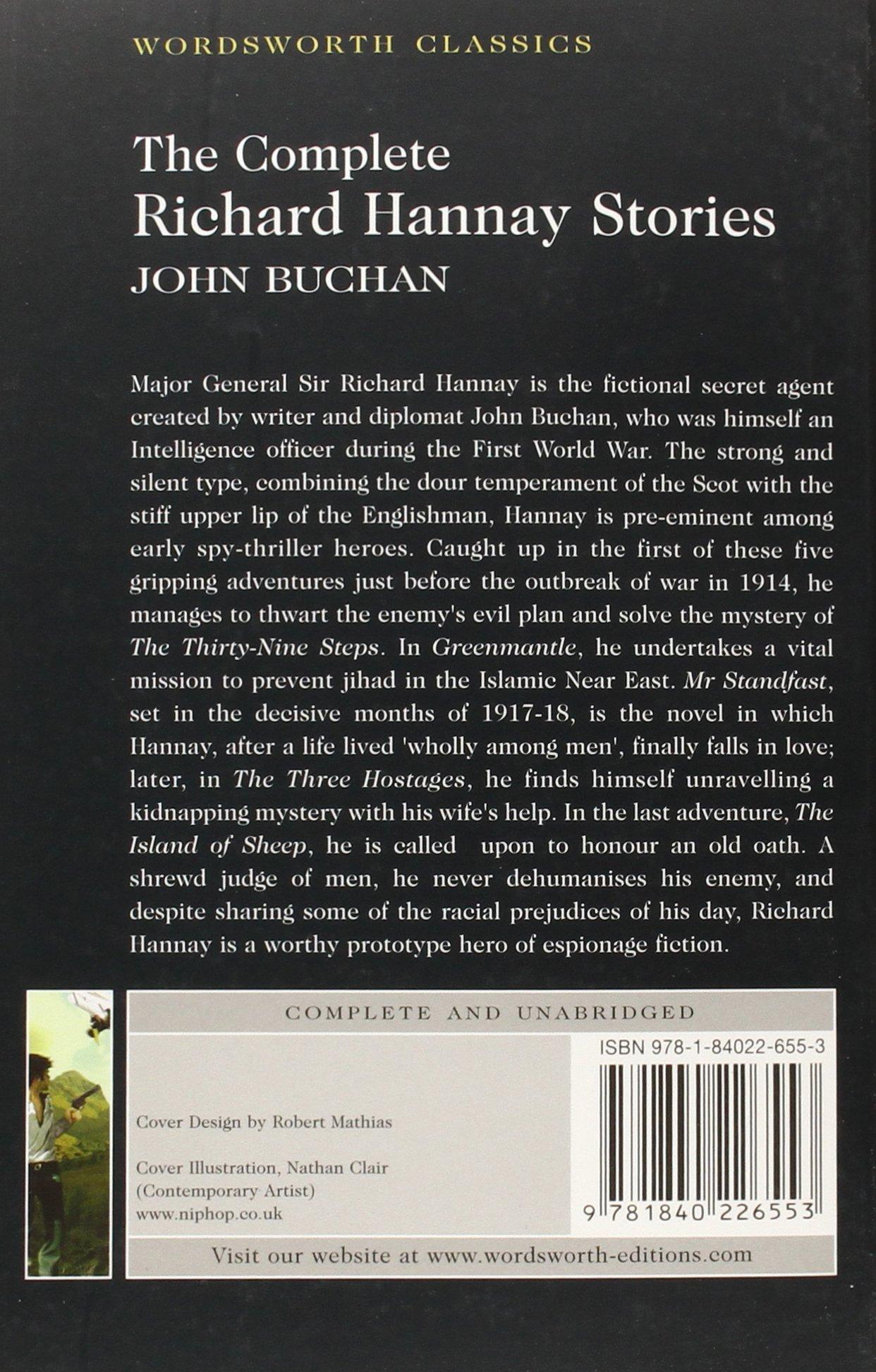 Theplete Richard Hannay Stories (wordsworth Classics): John Buchan:  9781840226553: Amazon: Books