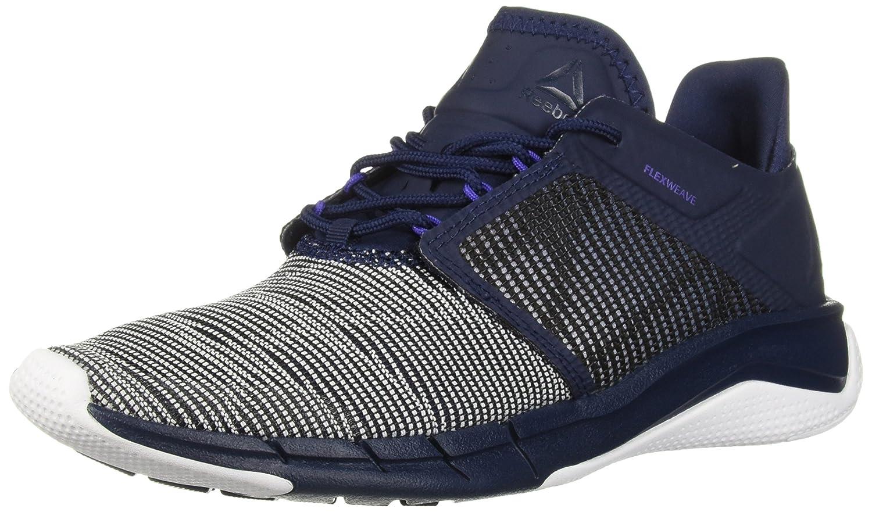 Reebok Women's Fast Flexweave Running Shoe B077ZJX2NZ 11.5 B(M) US|Collegiate Navy/Ultima Polyurethane