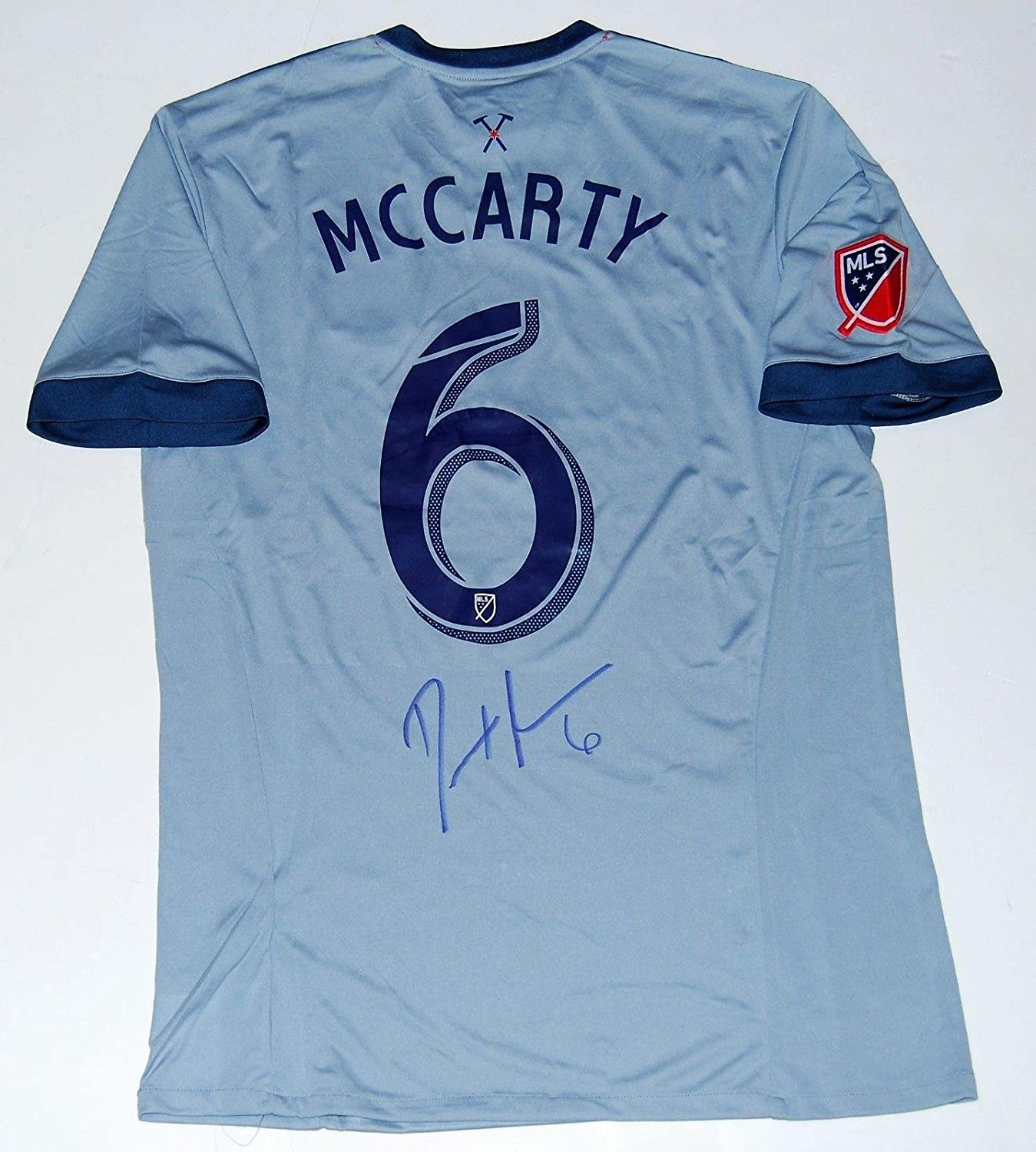 Dax Mccarty Signed Chicago Fire Mls Soccer Autographed Jersey W Coa Autographed Soccer Jerseys At Amazon S Sports Collectibles Store