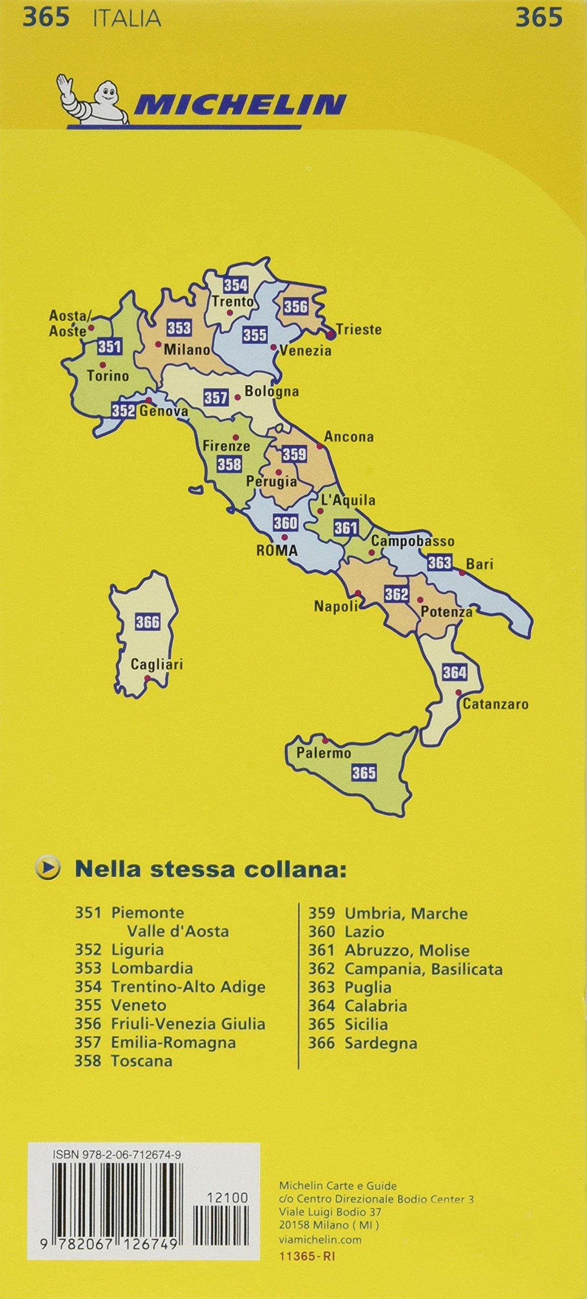 Mapa Local Italia Sicilia Mapas Local Michelin , 1:220.000: Amazon.es: MICHELIN: Libros en idiomas extranjeros