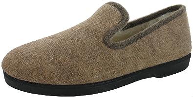 876d519dddd93 WAPITI TOO chaussons charentaises slippers Vaillac bas mixte fourrés pure  laine (35