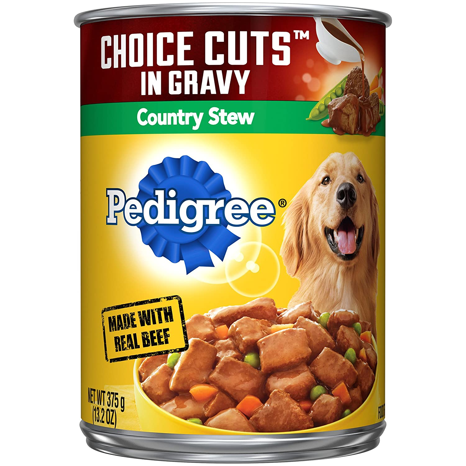 Pedigree Choice Cuts In Gravy Adult Wet Dog Food, 13.2 Oz. Cans Country Stew