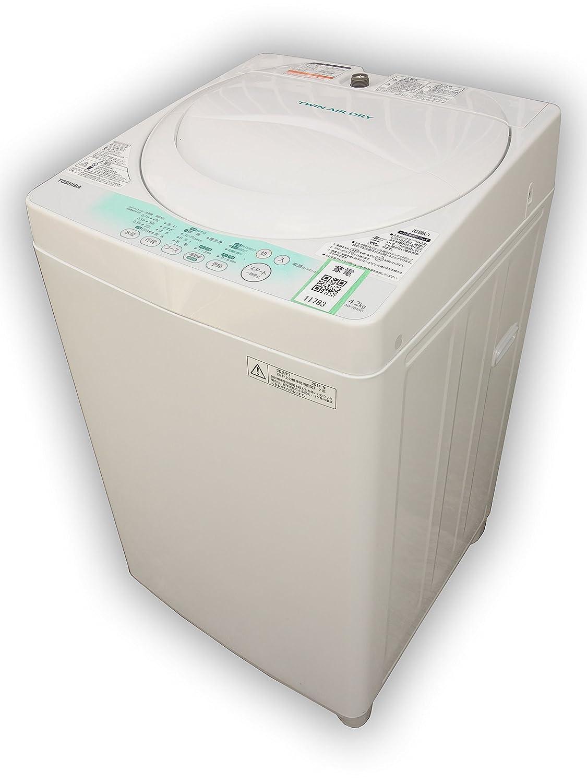 F▼東芝 洗濯機 2014年 4.2kg 風乾燥 プラスチック槽 AW-704 (11783)   B07D55QCF8