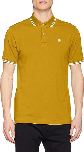 G-STAR RAW Dunda Slim Stripe Camisa Polo para Hombre: Amazon.es: Ropa y accesorios
