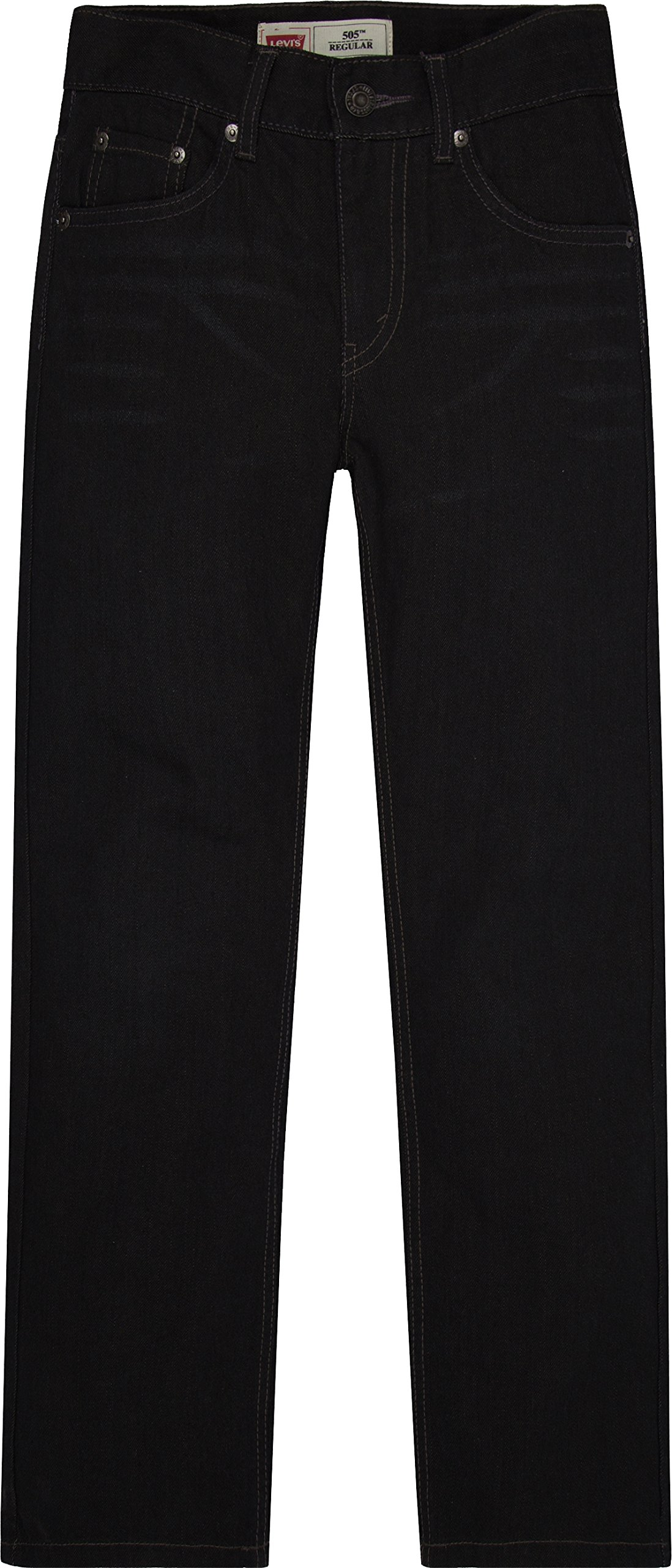 Levi's Boys' 505 Regular Fit Jeans, Levine, 12