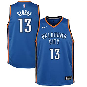 huge selection of 14b8f c2d85 Nike Youth Paul George Oklahoma City Thunder Icon Edition ...