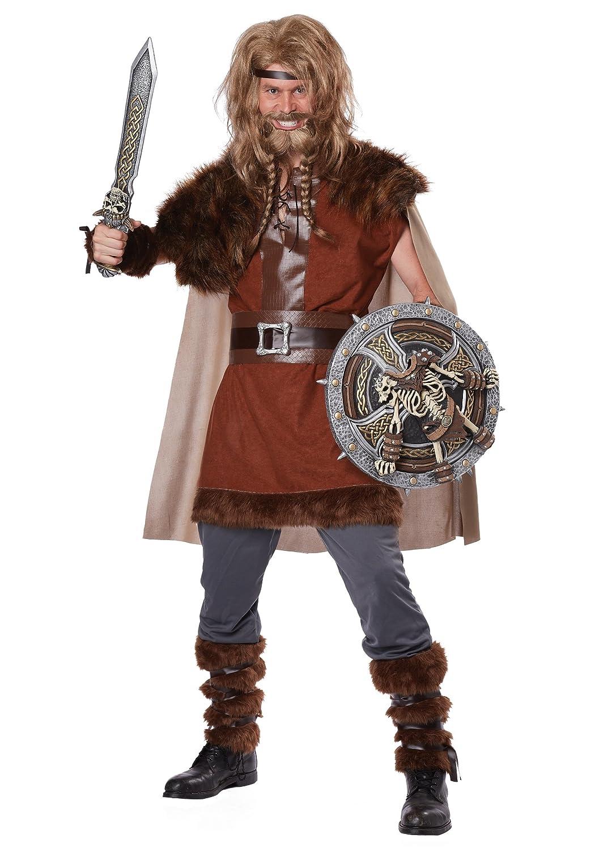 Generique Disfraz de Vikingo poderoso para Hombre XL: Amazon.es ...