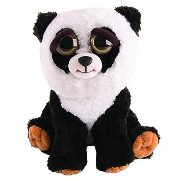 Mac Due Italy - Peluche Feisty Pets Panda, Color Blanco Negro, 323612: Amazon.es: Juguetes y juegos