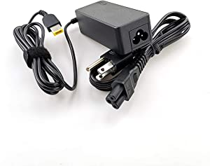 Laptop Charger 45W watt Slim Square tip AC Power Adapter for Lenovo ThinkPad Yoga Flex ideapad