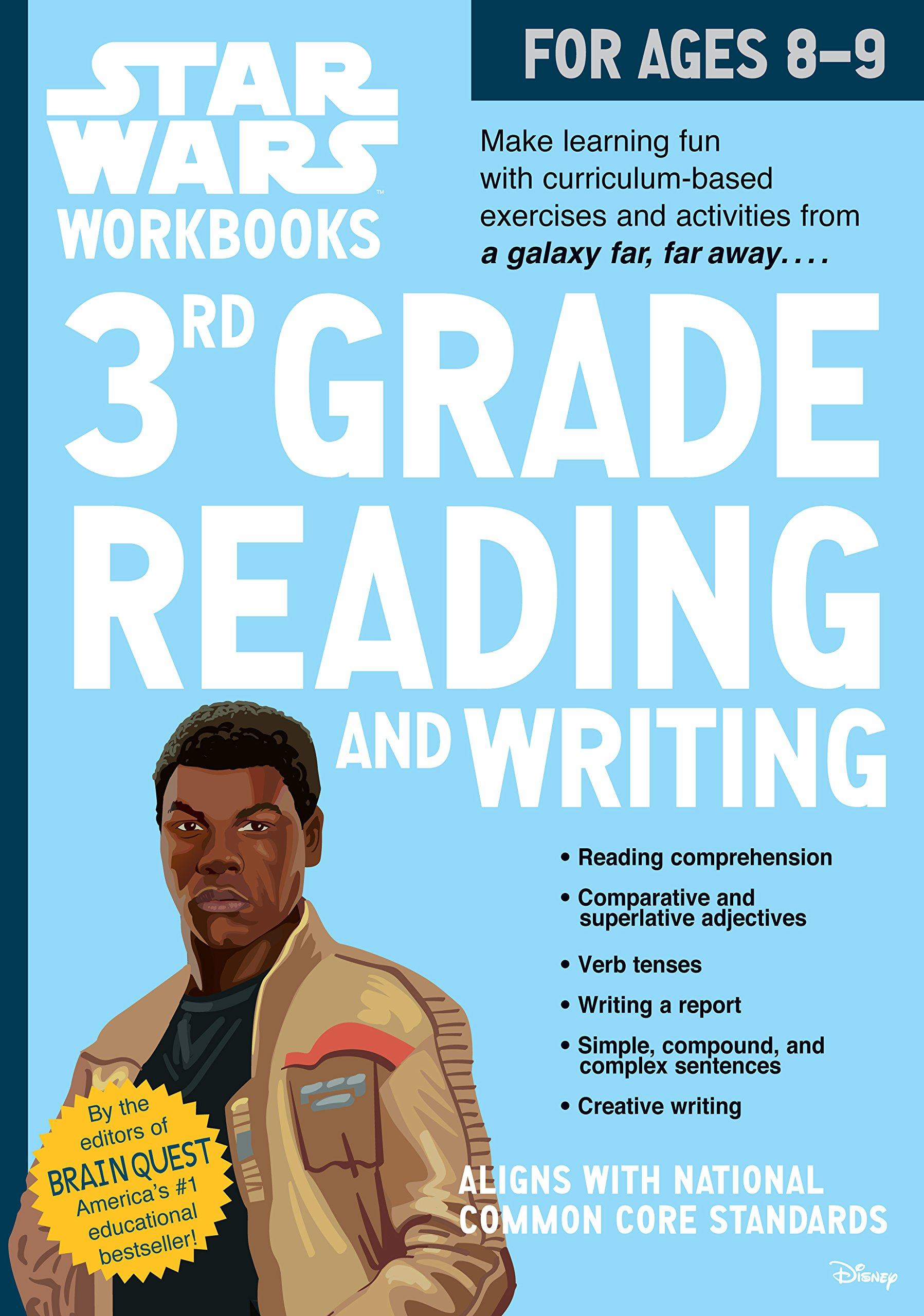 Star Wars Workbook: 3rd Grade Reading and Writing (Star Wars ...