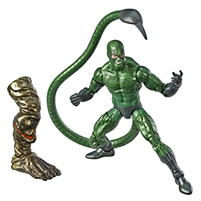 """Spider-Man Marvel Legends Series 6"""" Marvel's Scorpion Collectible Figure: Toys & Games"""