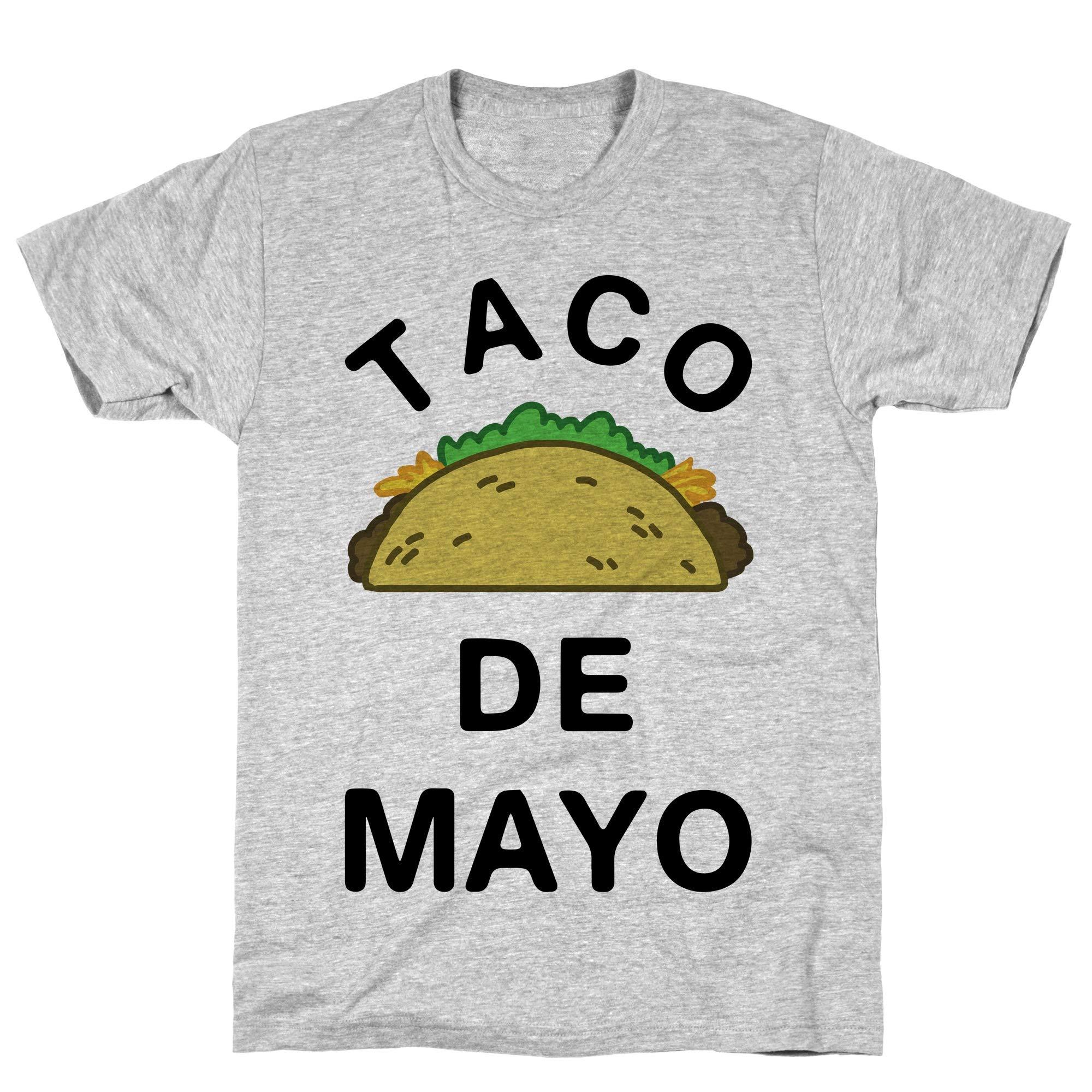 Taco De Mayo Athletic Gray Tee 5828 Shirts