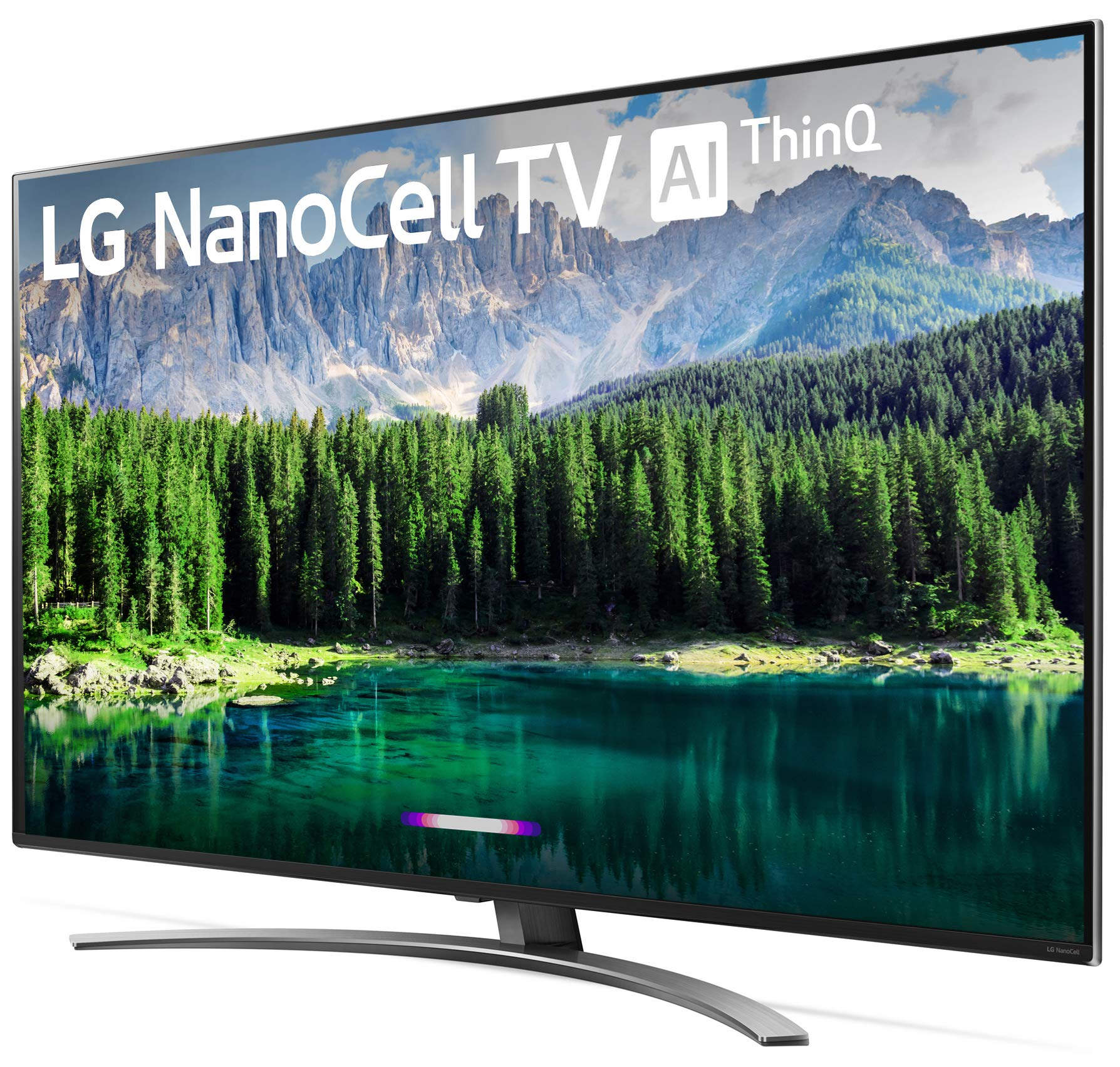 LG 55SM8600PUA Nano 8 Series 55'' 4K Ultra HD Smart LED NanoCell TV (2019), Black by LG (Image #8)