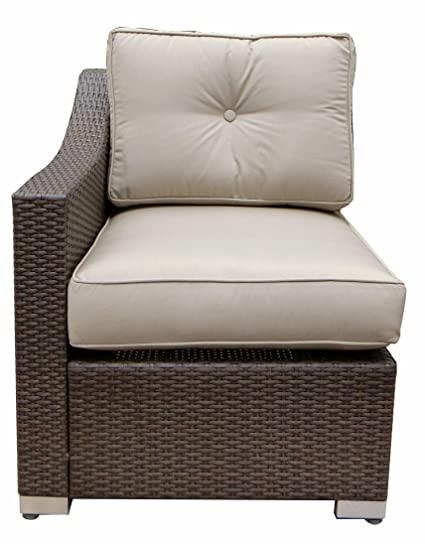 3fe040a9e8e Amazon.com   American Patio Right Arm Club Chair Sectional - All ...