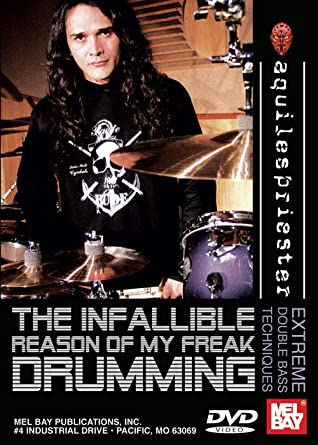 dvd aquiles priester inside my drums