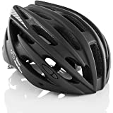 TeamObsidian Airflow Bike Helmet with in-Molded Reinforcing Skeleton for Added Protection - Adult Size