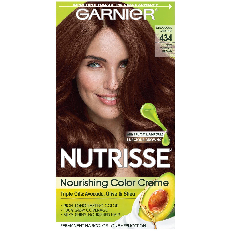 Amazon Garnier Nutrisse Nourishing Hair Color Creme 434 Deep