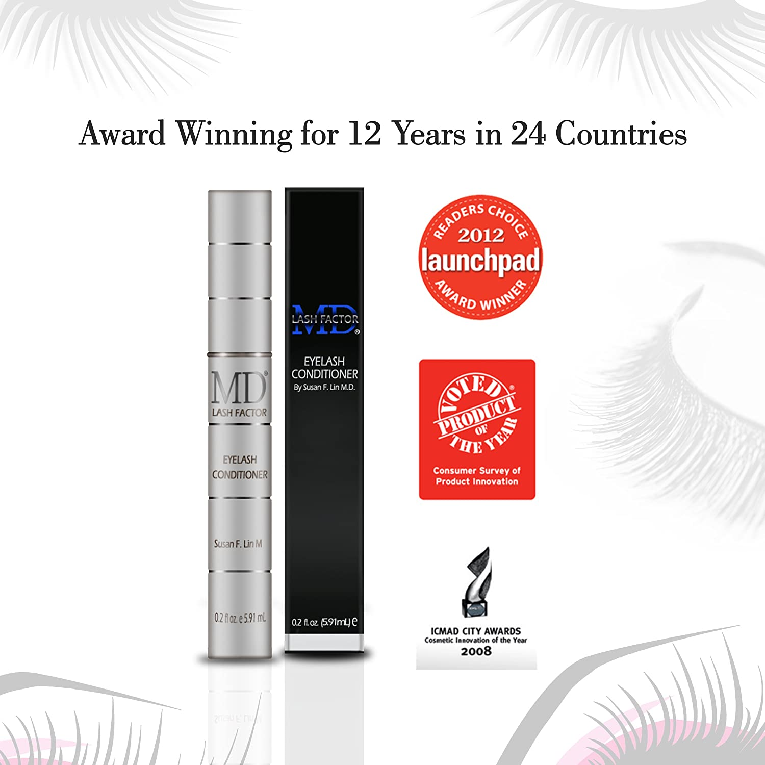 Amazon Md Lash Factor Eyelash Growth That Enhances Your Natural