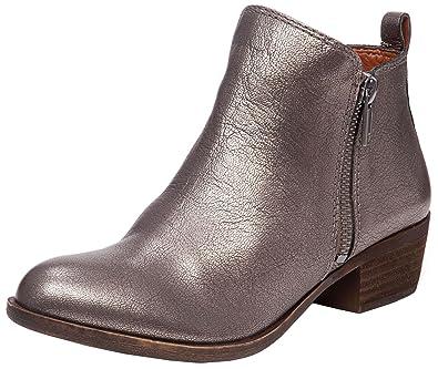 e39b808481d Lucky Brand Women's Basel Boot Pewter 12 B(M) US