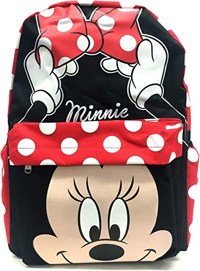 """Disney Minnie Mouse 16/"""" inches backpack /& Lunch Box For Kid BRAND NEW"""