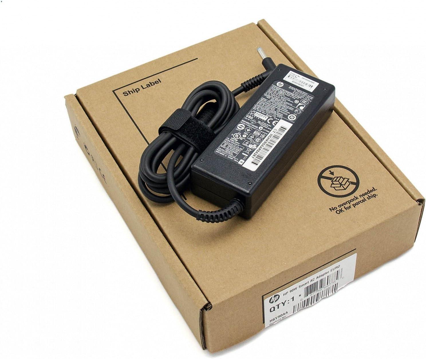power supply - 90 Watt 709986-001 for Hewlett Packard 240 / 242 / 248 / 250 / Envy 15-j000, 15t-j100, 15z-j000, 15z-j100, 17-j000, 17-j100, 17t-j000 / Pavilion 15-e000, 15-n000, 15t-e000, 17-e000, m4-1000 / Spectre 13-3000 by HP