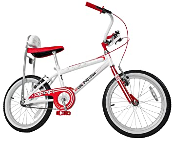 One Direction Girl S 1d Lo Rider Bike Red White 18 Inch Amazon