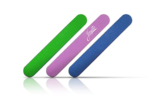 Jaylie TM Mini Assorted Color Nail Files (50 Pack)