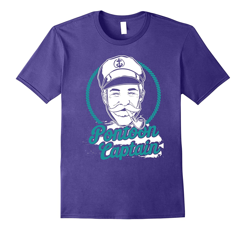 Pontoon Boat Captain - Motorboating T-Shirt-Art